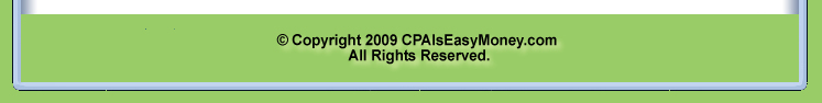 CPA Is Easy Money Newsletter